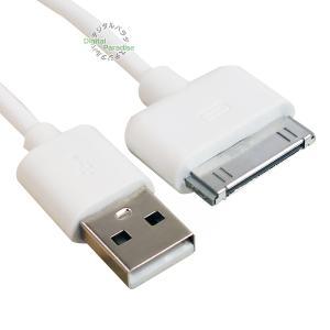 iPhone充電ケーブル Dockコネクタ 1.5m Dock端子(オス)-USB2.0(オス)接続...