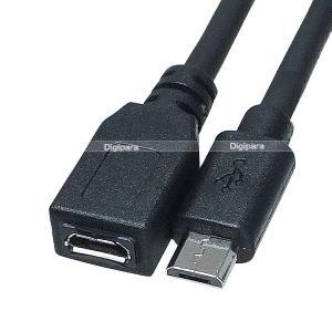 メール便容積【20%】  MicroUSB延長接続ケーブル/ナビ・ドライブレコーダー・スマートフォン...