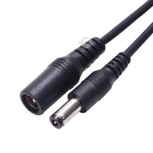 外径5.5mm内径2.5mm DC電源延長ケーブル 2m 内径5.5mm外径2.5mm(メス)-内径...