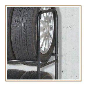 タイヤラック キャスターと専用カバー付き タイヤスタンド・スリム W58.3×D46×H124cm|tsuhantown|05