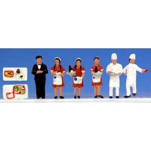 KATO 24-261 N人形 ブルートレイン食堂車乗務員|tsuichi