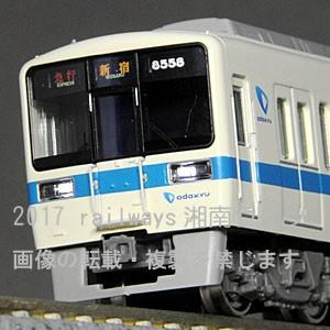 GM 50579 小田急8000形(更新車・8058編成)増結4両セット(Mなし) tsuichi