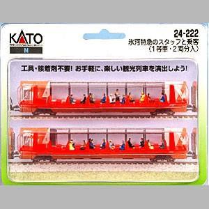 KATO 24-222 氷河特急のスタッフと乗客(1等車・2両分)|tsuichi
