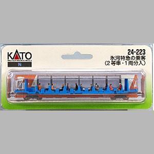 KATO 24-223 氷河特急の乗客(2等車・1両分)|tsuichi