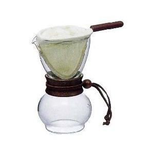 ネルドリップ ドリップポット・ウッドネック(3~4人用)|tsujimotocoffee