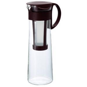 アイスコーヒー 水出し ポット(8人用/1000ml)プレミアムアイスブレンド80gおまけ付き 珈琲|tsujimotocoffee