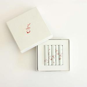東屋 / 印判箸置き 亥(はしおき いのしし) <br />5本セット 化粧箱入り|tsujimotocoffee