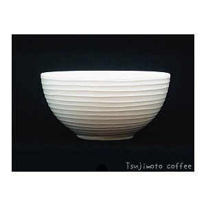 Blond スープ&シリアルボウル600ml ホワイト・ストライプ DESIGN HOUSE stockholm|tsujimotocoffee