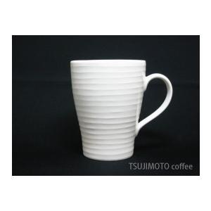 Blond マグカップ ホワイト・ストライプ DESIGN HOUSE stockholm tsujimotocoffee