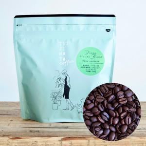 カフェインレス アイスコーヒー豆 珈琲 デカフェ ハウスブレンド1kg(200g×5袋)|tsujimotocoffee