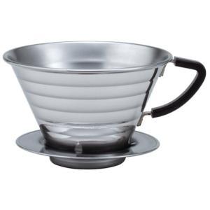 ウェーブドリッパー1852 4杯用 ステンレス製Kalita(カリタ)