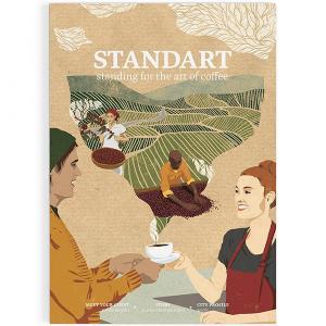 STANDART vol.4 スペシャルティコーヒー文化を伝えるインディペンデントマガジン 第4号 珈琲|tsujimotocoffee