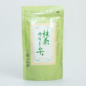 お取り寄せ商品 丸久小山園謹製 抹茶クリームティ 130gチャック付袋入|tsujimotocoffee