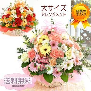 花 ギフト 誕生日 プレゼント 送料無料 ソフィ 大サイズ フラワーアレンジメントフラワー