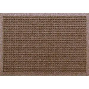 クリーンテックス・ジャパン(Kleen-Tex) 吸水玄関マット ウォーターホースT ブラウン 44×74cm AC00026|tsuki-no-ginka