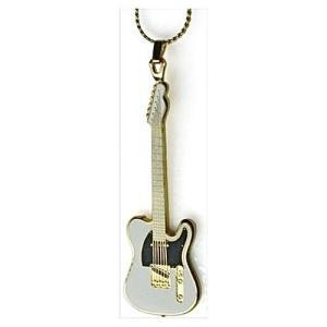 フェンダー テレキャスター ネックレス Fender Telecaster Necklace 521 (白)|tsuki-no-ginka