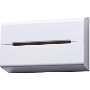 Home イデアコ ティッシュケース 壁に貼って使えるウォール ホワイト ideaco (イデアコ)