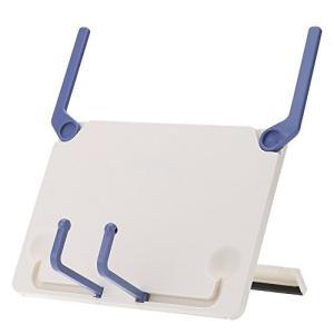 ammoon ブック スタンド 携帯式 折り畳み式 ブックエンド 本立てレーム ?iPad/ノートPC/楽譜/曲譜/クックブック/読書用|tsuki-no-ginka
