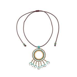 Jewelry [マツノグラスビーズ] MATSUNO GLASS BEADS ネックレス サークル...
