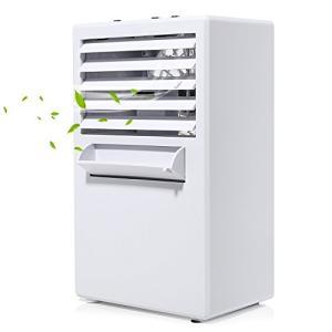 Kitchen HOMEINNK【2018年最新バージョン】扇風機 冷風扇 卓上冷風扇 PSE&am...