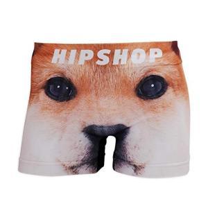 ヒップショップ  INU イヌ  アンダーパンツ メンズ コットンタイプ INU イヌ  SHIBA/柴犬 日本 M  日本サイズM相当|tsuki-no-ginka