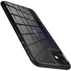 【Spigen】 iPhone 11 ケース 6.1インチ 対応 背面 クリア 米軍MIL規格取得 ...