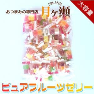 徳用ピュアフルーツゼリー 450g お菓子 おつまみ 業務用 大袋 個包装|tsukigase