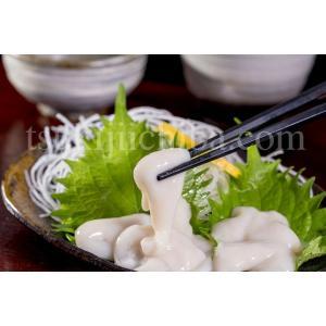 いか イカ 烏賊 するめいか 白子の刺身 200g 珍味 刺身 酒の肴 おつまみ しらこ 白子 冷凍同梱可能 tsukiji-ichiba2 02
