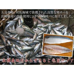 魚 さば サバ 鯖 送料無料 長崎県産 旬サバ ときさば 旬さば 塩さば 1袋2枚入り 約220g×3P 干物 焼き魚 おかず 冷凍 同梱不可|tsukiji-ichiba2|05
