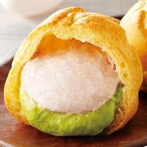 北海道 シュークリーム 抹茶あずき味 8個 業務用箱 スイーツ アイス デザート お土産 送料無料|tsukiji-ichiba2