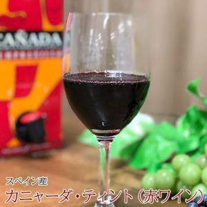 ハウスワイン カニャーダティント 赤ワイン 3L×4パック 業務用ケース ワイン ボックス BOX イエノミ 家飲み 送料無料|tsukiji-ichiba2