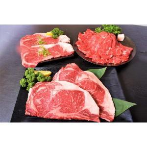 北のサーロインづくし 北海の黒 サーロイン ステーキ 2枚 計400g すき焼き 400g 焼肉用薄切り 2枚 計200g 合計1kg 冷凍 送料無料|tsukiji-ichiba2