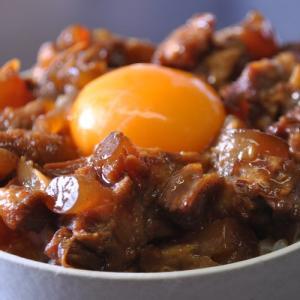 ≪送料無料≫ お肉屋さんの『豚バラ軟骨煮込み』 5袋セット(1袋約160g) ※常温 【同梱不可】|tsukiji-ichiba2|04