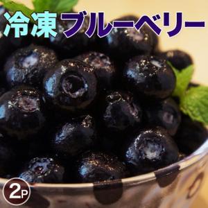 冷凍ブルーベリー 大容量 1kg(500g×2袋) [冷凍同梱可能] 冷凍フルーツ 冷凍果実 ジュース
