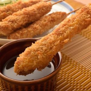 名古屋名物 味噌カツ上信ポーク の 豚串カツ 10本入り 八丁味噌だれ2P付き みそカツ ミソカツ 冷凍 同梱可能|tsukiji-ichiba2|05