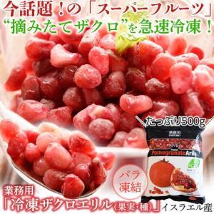 ざくろ ザクロ ザクロエリル 冷凍ザクロ 500g イスラエル産 冷凍同梱可能 冷凍フルーツ|tsukiji-ichiba2