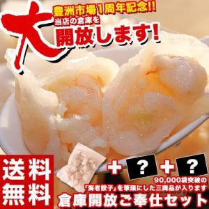 福袋 棚卸 倉庫開放ご奉仕セット えび エビ 海老餃子50個+2品 冷凍 送料無料 セット商品の指定はできません|tsukiji-ichiba2