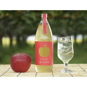 お取り寄せ ジュース りんごジュース リンゴジュース りんご リンゴ 林檎 大野農園ジュース 産直 1L×6本 常温 送料無料 tsukiji-ichiba2