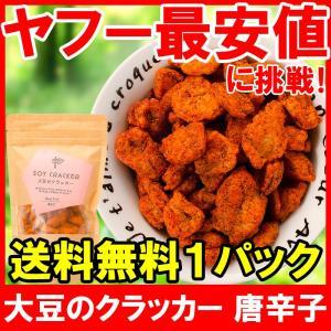大豆のクラッカー ソイクラッカー 唐辛子 60g×1パック|tsukiji-ousama