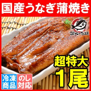 超特大 国産うなぎ蒲焼き 平均250g前後×1尾 タレ付き (国産 うなぎ ウナギ 鰻)|tsukiji-ousama