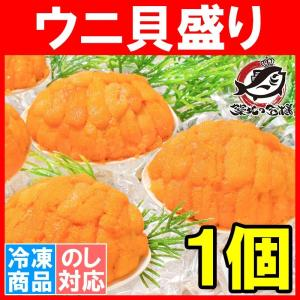 (ウニ うに 雲丹)うに貝盛り 40g(1個)|tsukiji-ousama