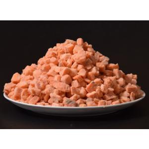 冷凍食品のクリームパスタ終売につき、 具材のサーモンが余って緊急特売!  数量限定の特別価格です! ...