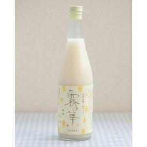 酒 ギフト 無添加 和風マッコリ 霧の華 720ml×6本セット 送料無料 冷蔵 tsukijiichiba