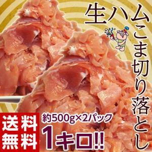 訳あり 生ハム 切り落とし 送料無料 生ハムこま切り落とし 約500g×2P 計1kg 冷凍 おつまみ  ☆|tsukijiichiba