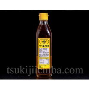 影山製油所 国産「菜種油(ななしきぶ)」 圧搾一番搾り 270g|tsukijiichiba