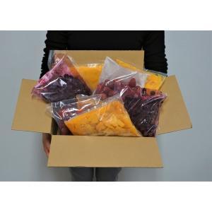 【賞味期限間近】冷凍フルーツ詰め合わせ 4種 計4キロ マンゴー マンゴーピューレ ストロベリー ブルーベリー 各500g×2P 送料無料|tsukijiichiba