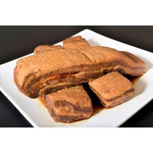 豚 豚肉 業務用 豚角煮チャーシュー ブロック 2kg 冷凍 角煮 おかず おつまみ かくに チャーシュー 冷凍同梱可能 送料無料|tsukijiichiba