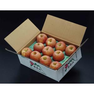 葉とらずりんご『早生ふじ』青森県産 風袋込約3kg(7〜12玉入) ×2箱 岩木山りんご生産出荷組合 産地箱 ※常温 送料無料 tsukijiichiba