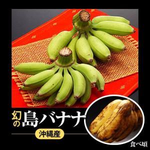 沖縄産 「島バナナ」 1〜3房 約1kg frt ○