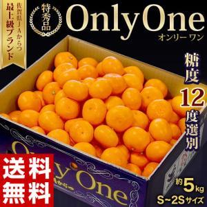 みかん 送料無料 佐賀県産みかん Only One 秀品 S〜2S 約5kg 豊洲市場 JAからつ オンリーワン うわばの夢